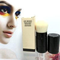 Wholesale Goat Eyes - 1PCS Les Beiges RETRACTABLE KABUKI BRUSH - Box Package - Beauty Cosmetics Makeup Brushes Blender