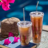 bar için içki kadehi toptan satış-Cam Mutfak Yemek Barware Bar Aksesuarları Dayanıklı Isı Renk Borosilikat Şeffaf Suyu İçecek Payet 5 adet / grup