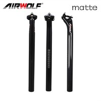 Wholesale carbon seatposts - Airwolf carbon seatpost 27.2 30.8 31.6mm diameter carbon seatpost 350 400 mm length 3K weave matte or glossy finish seatposts