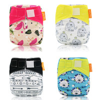 Wholesale happy baby cloth diapers for sale - Group buy Happy Flute OS Cloth Diapers Reusbale amp Washable Night AIO Baby Nappy Waterproof cloth nappy fit years kg baby