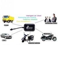 ingrosso antenna auto gps-Localizzatore LBS per auto antifurto in tempo reale, localizzatore GSM / GPRS / GPS per auto mini moto / moto GT005