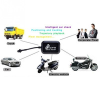 Wholesale Real Time Anti Theft Car Kit LBS Locator GT005 Car Motorcycle Mini Vehicle Tracker GSM GPRS GPS Locator