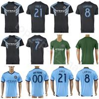 Wholesale men's rings online - New York City Soccer FC Jersey MEDINA TINNERHOLM RING MATARRITA JOHNSON Goalkeeper Football Shirt Kits Uniform