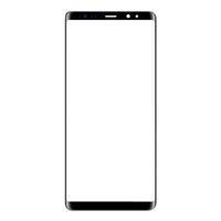 panel táctil para la nota al por mayor-50 piezas (marcada) para Samsung Galaxy Note 8 Note8 N950 N950F lente de vidrio frontal 6.3