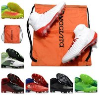 Wholesale rubber hip boots men - Hip Top mens soccer boots cleats magista obra II time to shine soccer shoes cleats 3D ACC indoor magistax proximo football shoes