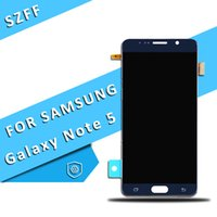 Wholesale note lcd screen replacement - For Samsung Galaxy Note 5 Original LCD Touch Screen Digitizer Replacement Blue White Gold N920 N920V N920A N920T N920P Free Shipping DHL