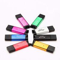 porzellankarte 2gb tf großhandel-High Speed USB 2.0 Micro SD-Karte T-Flash TF M2 Speicherkartenleseradapter 2 GB 4 GB 8 GB 16 GB 32 GB 64 GB TF-Karte