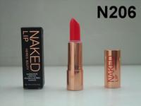 Wholesale Lipstick Tubes - Free Shipping ePacket Factory New Makeup Lips Metal Tube Hers B2uty Audacious Matte Lipstick!4.2g