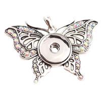 ingrosso gadget per ragazze-K's Gadgets Accessori per gioielli ciondolo Moda nuova Buerfly Cuore Design Donne Ragazze fascino collane per collana FAI DA TE KS170