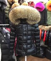 weißer wintermantel für damen großhandel-Marken-Frauen-Winter-Fuchspelz-weiße Entendaunen-Jacken-Entwerfer-Dame Zipper Short Hooded Winter-Oberbekleidung-warmer Mantel
