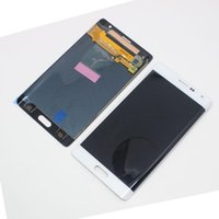 galaxia nota borde lcd al por mayor-para Samsung Galaxy Note Edge N915F pantalla LCD digitalizador de pantalla táctil negro