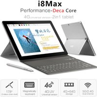 Wholesale Original VOYO I8 Max LTE G Phablet Android MTK6797 Deca Core GB GB MP G Phone Call Tablet PC OTG Dual SIM GPS