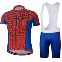 Roupa Ciclismo 2018 Superman Cycling Jersey Set Short Sleeve cycling jersey  With Padded Bib Trousers Ultra Breathable Bike Wear 26b8d15f0