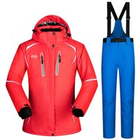 Artic Cold Weather Women s Snow Suit Breathable Waterproof Snowboard Jackets  and Pants Sets Male Winter Skiing Clothing Suits 28ddfaf31