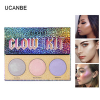 Wholesale sugar brand cosmetics online - New UCANBE Brand Color Chameleon Highlighter Makeup Palette Crystal Sugar Highlighting Bronzer Glow Shimmer Eyeshadow Cosmetic