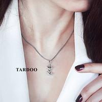 925 fuchs halskette großhandel-Tardoo Netter Fox Folding Anmial Auf Verkauf Halsketten Anhänger für Frauen 925 Sterling Silber Schöne Art Silberschmuck X912