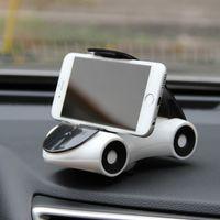 iphone için emiş aparatı toptan satış-Yapmak balo evrensel araç telefonu tutucu 360 rotasyon cep telefonu emme cam montaj iphone 7 6 s / 6 samsung 88 xr657 için standı