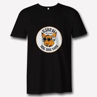 logo música venda por atacado-KSHE 95 St Louis Rádio Clássico Rock Music Apparel logotipo T Shirt dos homens 2018 Novo Tee Impressão Homens T-Shirt Tops Hip Hop Curto T camisa
