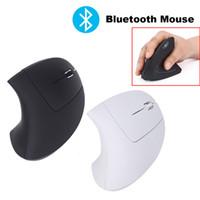 ingrosso mouse del gioco del bluetooth-Mouse senza fili Bluetooth Mouse Mouse verticale 1600DPI USB con design ergonomico