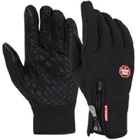 Windproof Outdoor Sport Skiing Touch Screen Glove Cycling Bicycle Gloves Mountaineering Military Motorcycle Racing Bike Gloves