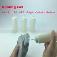 cavitação de ultra-som rf venda por atacado-gel refrigerando apropriado para a máquina do cuidado de pele do emagrecimento da cavitação do ultra-som do laser HIFU IPL RF