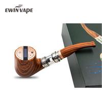 tubo de cigarro eletrônico mod venda por atacado-EWINVAPE E tubo F-30 Kit de Vapor Cigarro Eletrônico ePipe F30 3 ml Atomizador Vaporizador 1450 mAh Caixa de fumar Mod VS Epipe 618 Hookah