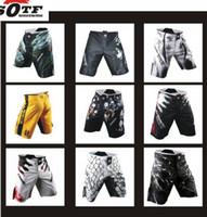 Sotf 2015 New Mma Boxing Shorts Mens Mma Muay Thai Boxing Fight Shorts Mixed Martial Arts Sport Trunks Muay Pants Free Shopping
