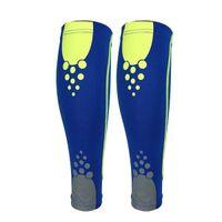 Wholesale Basketball Leg Gear - Sport Basketball Leg Knee Calf Wrap Brace Support Pad Guard Protector Sports Protector Gear blue XL