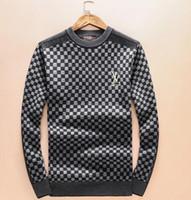 homens cashmere suéter venda por atacado-Nova Moda Masculina mulheres suéteres de Cashmere casuais jaqueta de tricô pullover design de Luxo unisex quente casaco camisola G9810