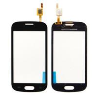 s7582 samsung al por mayor-Alta calidad para Samsung Galaxy S7392 I8262 S7262 I9200 I9152 S7582 G7100 Touch pantalla digitalizador frontal de vidrio Sensor Panel