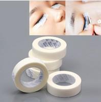 fita de cílios venda por atacado-Profissional 15 pcs Extensão Dos Cílios Sem Fio Almofadas Do Olho Branco Papel De Seda Sob Patches Ferramenta para Cílios Falsos Patch Tape