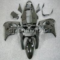 mattschwarze motorradverkleidungen großhandel-23colors + Geschenke Matte Black Karosserie Motorrad Verkleidung für Kawasaki ZX9R 2002 2003 ZX-9R 02-03 ABS-Kunststoff-Kit