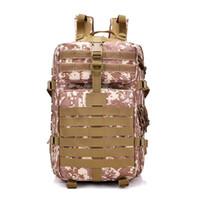 mochila tática verde venda por atacado-Processamento de explosões personalizadas original pacote tático 3P Os entusiastas militares carregam saco Aumentar 40L900D mochila (preto, verde, marrom)