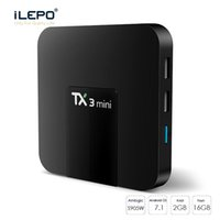 Wholesale android tv box gb for sale - Group buy Service with Android TV Box TX3 mini Amlogic S905W GB support Smart TV French USA Germany Arabic CA Italia Spain