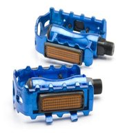Wholesale aluminum foot pedals for sale - Group buy All Aluminum Pedals Bicycle Non Slip Foot Tread Toothed Four Colors Cycling Tools Professional High Quality hl ii