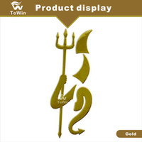 Wholesale pvc free decal paper for sale - Group buy High quality Universal Devil Decal Truck Demon Stickers Emblem Logo Paper Car Accessories Exteriors