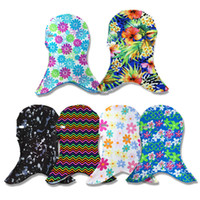 Wholesale head equipment resale online - Color Sunscreen Swimming Caps Nylon Head Cover Ultraviolet Proof Snorkeling Equipment Diving Breathable Comfort Fashion Face Gini fc W