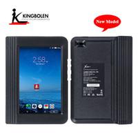 isuzu bluetooth diagnosewerkzeug großhandel-X431 V 8inch X431 Pro starten Mini-System für die Fahrzeugdiagnose Mehrsprachig Bluetooth / Wifi Zwei Jahre kostenloses Update