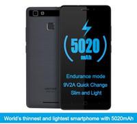 Wholesale 3g phone wifi analog tv resale online - Vernee Thor E quot HD G LTE Mobile Phone MTK6753 Octa Core Android Cell Phones G RAM G ROM mAh Fingerprint Smartphone