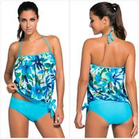 nouveaux costumes élégants achat en gros de-Nouvelle Arrivée Eur US Taille Sexy Tankinis Costumes Femmes Élégant Maillot De Bain Bikini Maillot De Bain Doux Bikinis Pour Les Vacances D'été