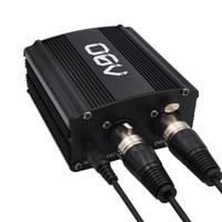 48v adapter großhandel-48V Phantomspeisung mit Adapter, BONUS + XLR 2M Pin Mikrofonkabel für jedes Kondensatormikrofon Musik Recording Equipment