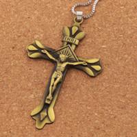 Wholesale prayer bible pendant resale online - Fashion Jewelry INRI Crucifix Bible Prayer Cross Pendant Men Necklace Chain inches N1786 Hot sell Pendant Necklaces