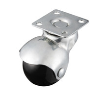 Wholesale furniture swivels - 8 Pack,Hooded Ball Casters, Furniture Office Chair Plate Swivel Wheels, Load Capacity