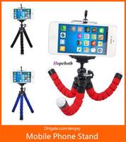 телефон с осьминогами оптовых-горячие продажи гибкий осьминог три телефона Держатель универсальный стенд кронштейн для сотового телефона камеры автомобиля селфи моно