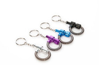 Wholesale springing key chains for sale - Group buy Personality creativity metal pipe fashion spring key chain pipe smoking set