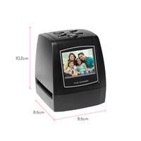mini scanner usb venda por atacado-Mini Scanner de Filme Negativo 35mm 135mm Conversor de Filme de Slides Foto Visualizador de Imagem Digital com 512 M Embutido de Software de Edição de Memória