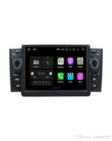Wholesale car stereo oem - OEM best quad core HD RDS Android 7.1 car stereo touch screen 2 din auto radio car dvd for Fiat Linea 2007-2013 car gps navigation system