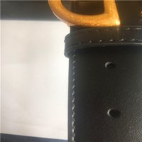 Wholesale Free Picture Printing - 3.8cm .2.0cm buckle High quality leather fashion Smooth pattern picture Belts designer Belt Men and women brand Belt with box.