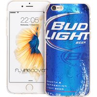 ingrosso apple iphone 4s blu-Cover in silicone TPU in silicone trasparente per Coque Blue Beer Tin Wine per iPhone X 7 8 Plus 5S 5 SE 6 6S Plus 5C 4S 4 iPod Touch 6 5 Custodie.