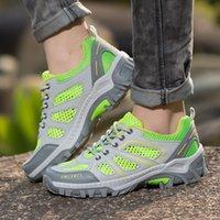 baixo corte sapatos de caminhada venda por atacado-2017 Mulheres que caminham as sapatilhas Low-cut esporte sapatos respirável Professional caminhadas sapatos Mulheres Athletic Flats exterior por Homens